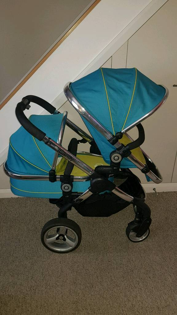 Icandy Peach Double - Cot, Pram & Car Seat Travel System