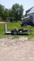 5x7 galvanized trailer for sale or trades