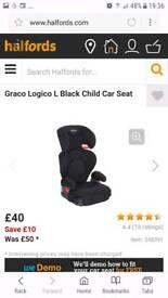 Grace logic car seat BNIB