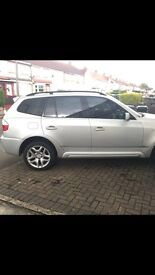 BMW X3 Silver 55 plate CHEAP AND LOW MILEAGE!!