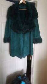 Joanna Hope teal jacket 18