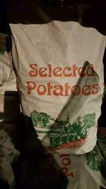 Farm fresh potatoes