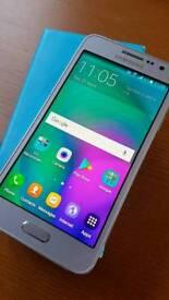 Samsung Galaxy A3 Smartphone 16GB on O2 - boxed.
