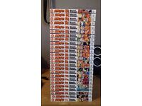Naruto Manga 1 - 25 For Sale