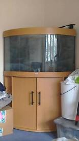 Fish tank 190litre with filters