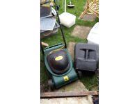 Gardentech electric lawnmower