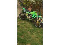 Kx 60 motocross bike very fast working all as it should be!!