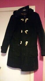 Ladies Superdry Duffle Coat with hood