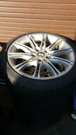 New Tyres: 225/40ZR18 and BMW 318 19.5 inch rims