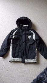 Official Norwich city boys coat 11-12 yrs .