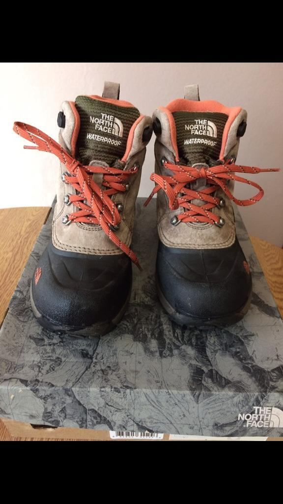 North Face Waterproof boots Size 1