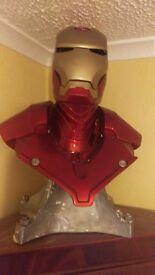 Ironman 1/1 scale bust amazing item