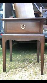Small table vintage , unsure of age , good solid condition , ideal shabby chic project