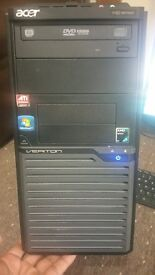 """Acer Desktop PC & 19"""" LCD Monitor, WiFi, Wireless keyboard and Mice, Office 2013 fully activated"""