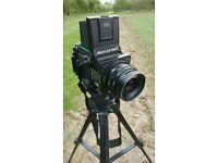 Mamiya RB67 Pro S Medium Format Camera with 90mm lens + 2 120 film backs