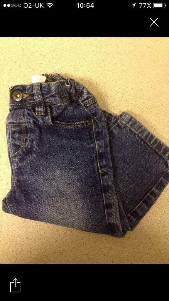 Next baby jeans age 12-18months