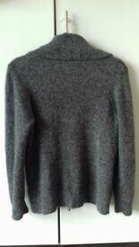 A light weight sparkly grey jumper size 16