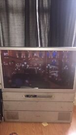 FREE FCFS - Toshiba 42 inch projector tv - please read ad - old style