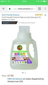 Baby laundry liquid