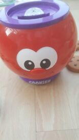 Counting cookie jar