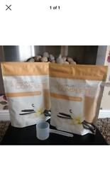 2 Brand new packs of Juice Plus Vanilla with scoop