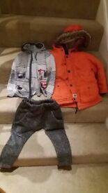 Boys(3~4yrs) winter clothes