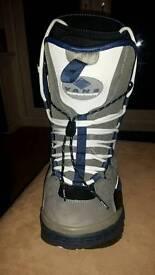 Vans snowboard boots, size 11, excellent condition
