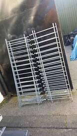 Heavy heavy cast iron rails
