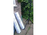 2x Stands speakers new