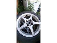 Alloy wheels 4 stud