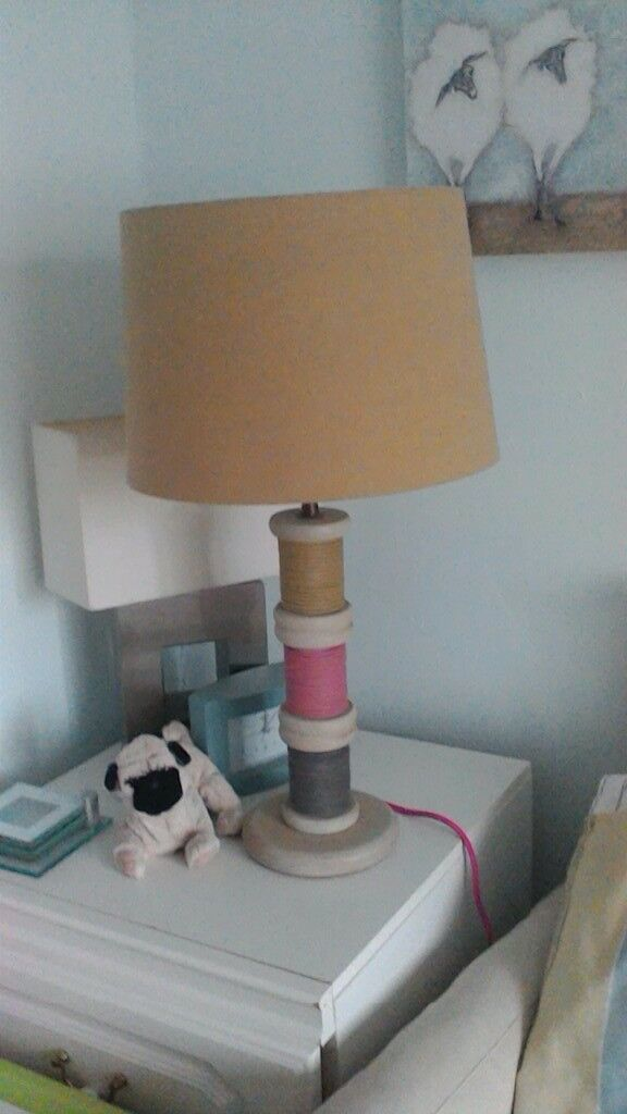 Bobbins Cotton Reel Lamp From Next Large Size In Market Harborough Leicestershire Gumtree
