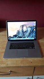 "Macbook Pro (mid 2014) 15"" Retina"