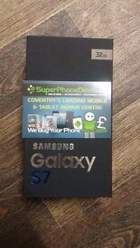 SAMSUNG GALAXY S7 32GB - (BLACK & GOLD IN STOCK) - UNLOCKED - BRAND NEW - FULL SAMSUNG WARRANTY