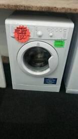 INDESIT 6KG 1100 SPIN WASHING MACHINE IN WHITE