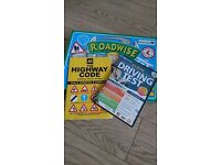 Dvd pass your driving test. roadwise board game and highway code