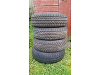 Set of 4 x 175 / 65 / 14 Tyres - Excellent Treads - Corsa, Clio, Fiesta, Polo etc