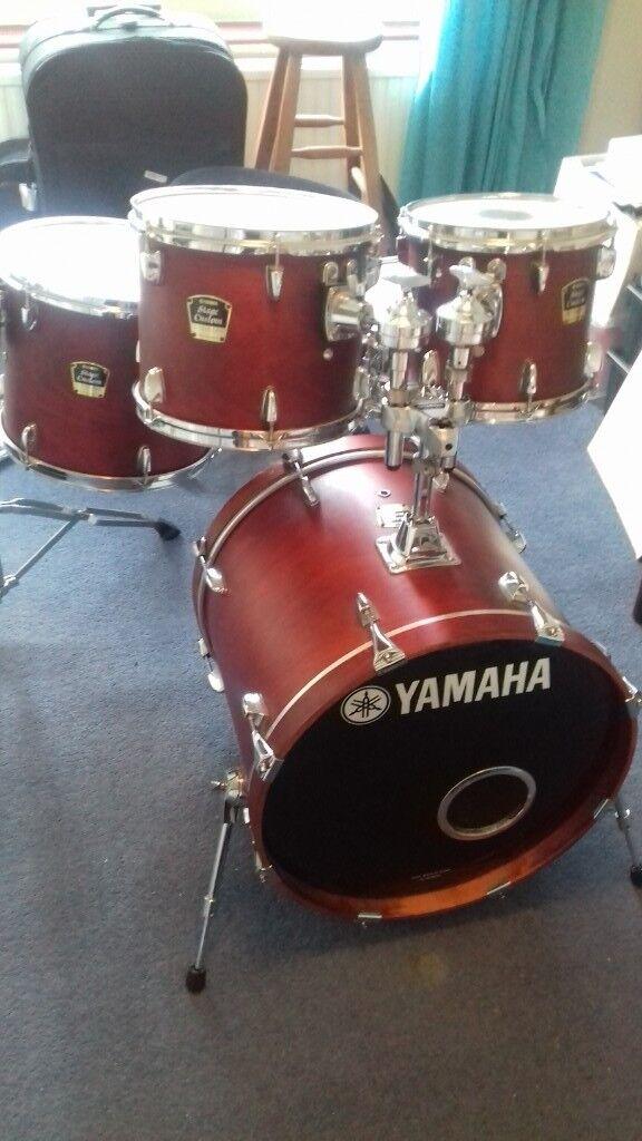 Yamaha Stage Custom Drum Kit Good Condition In Teddington