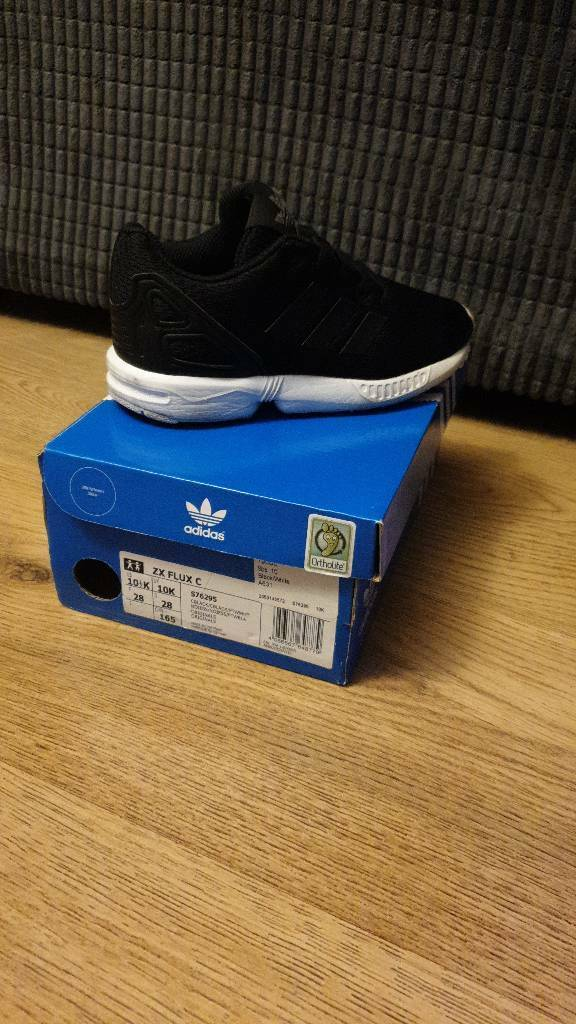 new product 60592 283d8 Adidas zx flux infant UK 10 | in Stoke-on-Trent, Staffordshire | Gumtree