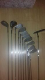 Set of various Golf Clubs - FREE TO GOOD HOME