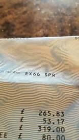 Cherished registration number