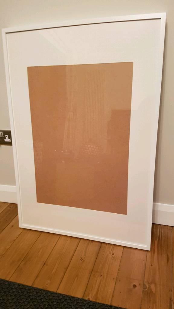Poster Frames - Ribba, White Ikea Frame, 70x100   in Bangor, County ...