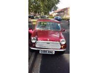 "Austin MINI ""30"" A true classic 1989 only 50660 miles 11 months MOT £ 3,250 or any sessible offer"