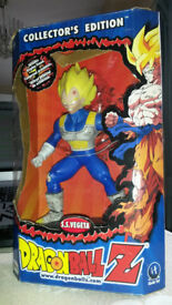 Rare collectors edition Dragonball Z Vegeta large figure