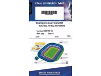 4x champions cup final tickets 2017