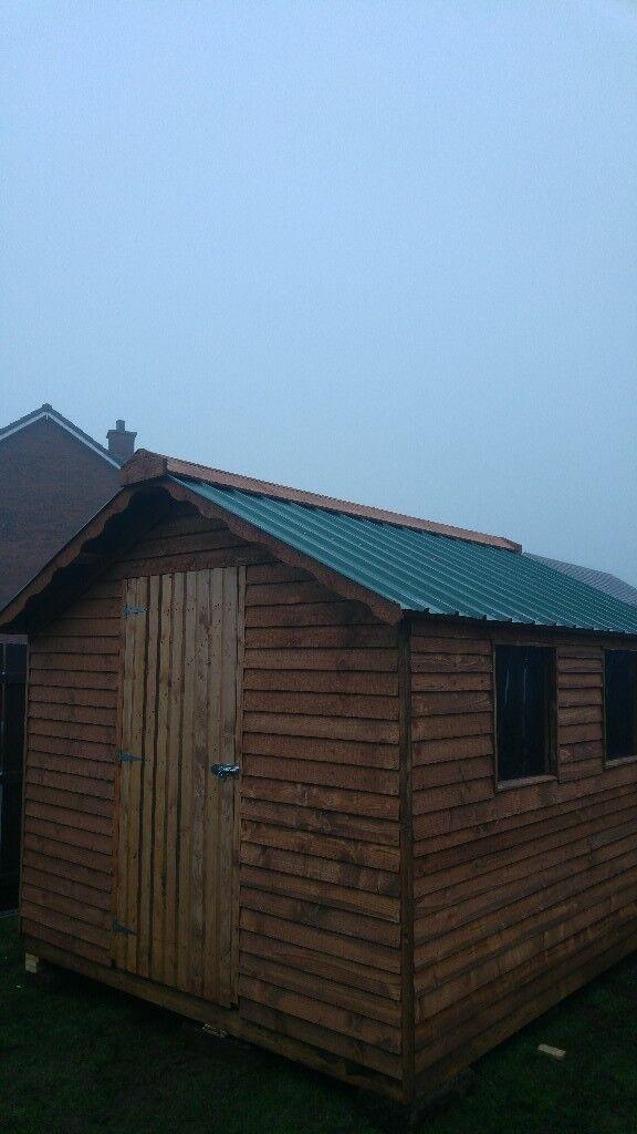 garden sheds sheds 10ft by 8ft 550 - Garden Sheds Gumtree
