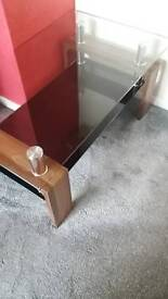 Glass top coffe table