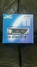 New jvc stereo
