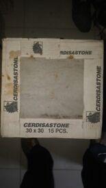 NEW Cerdisa Stone Tiles 30cm x 30cm - 3 and a half boxes