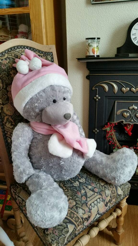 Now £7 very large teddy