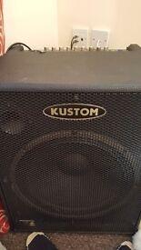 kustom amp 200 watts ecko bass guitar both immaculate hardly used
